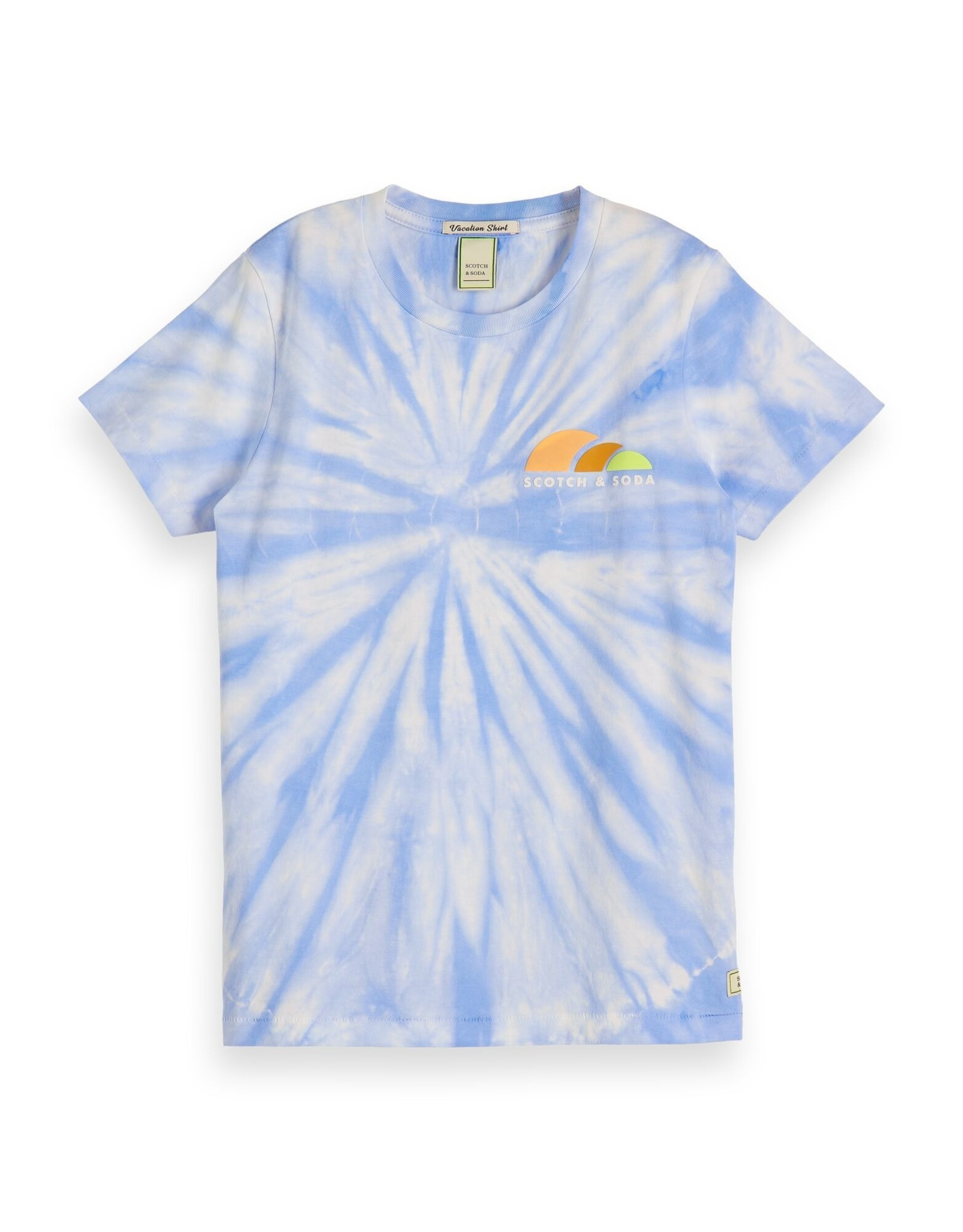 Scotch&Soda Shrunk tie dye t-shirt
