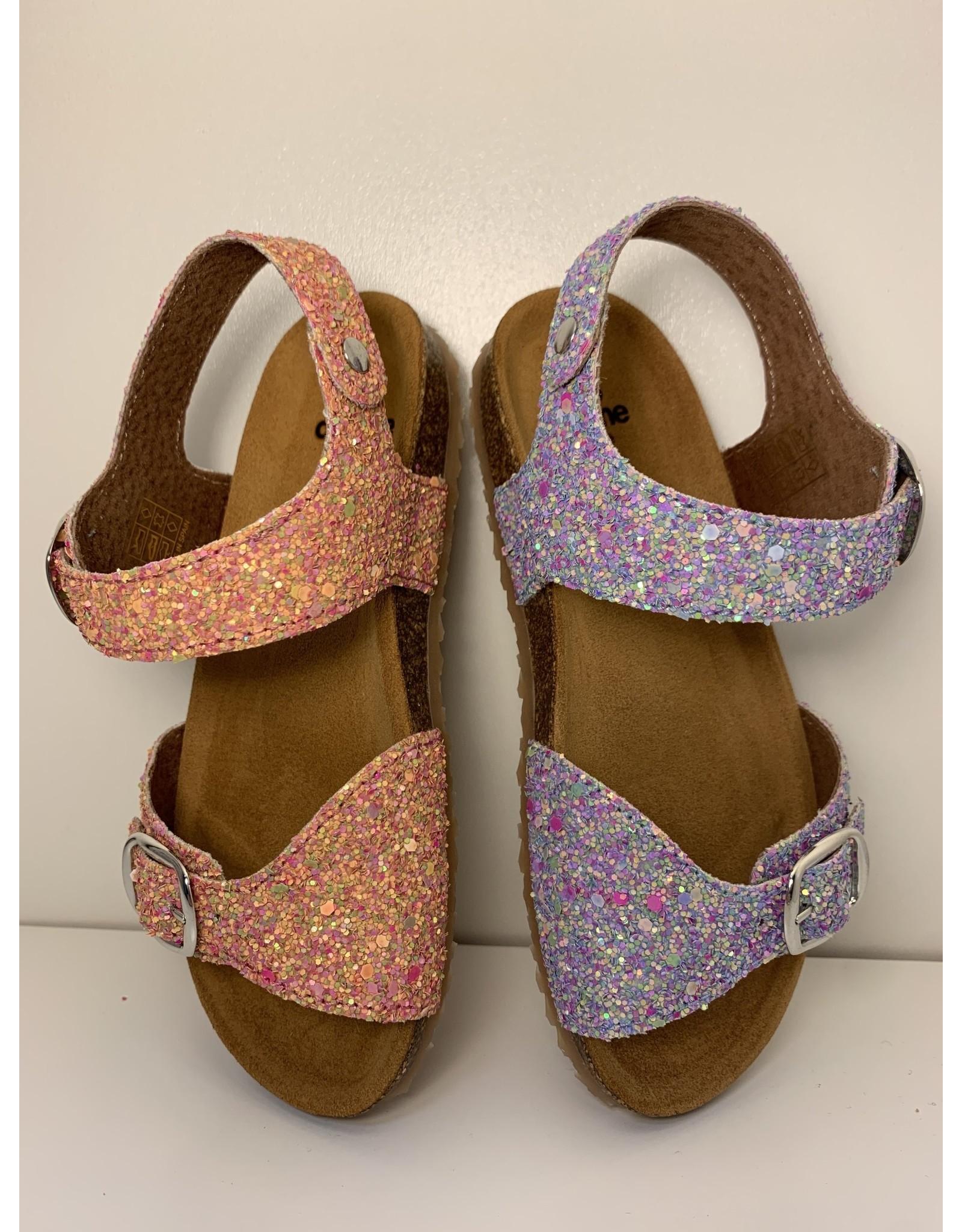 Pèpè Two Con Me sandaal glitter