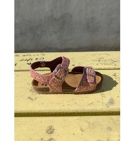 Pèpè Two Con Me sandaal glitter roze of blauw 27 tot 30