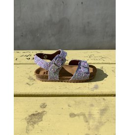 Pèpè Two Con Me sandaal glitter roze of blauw 24 tot 26