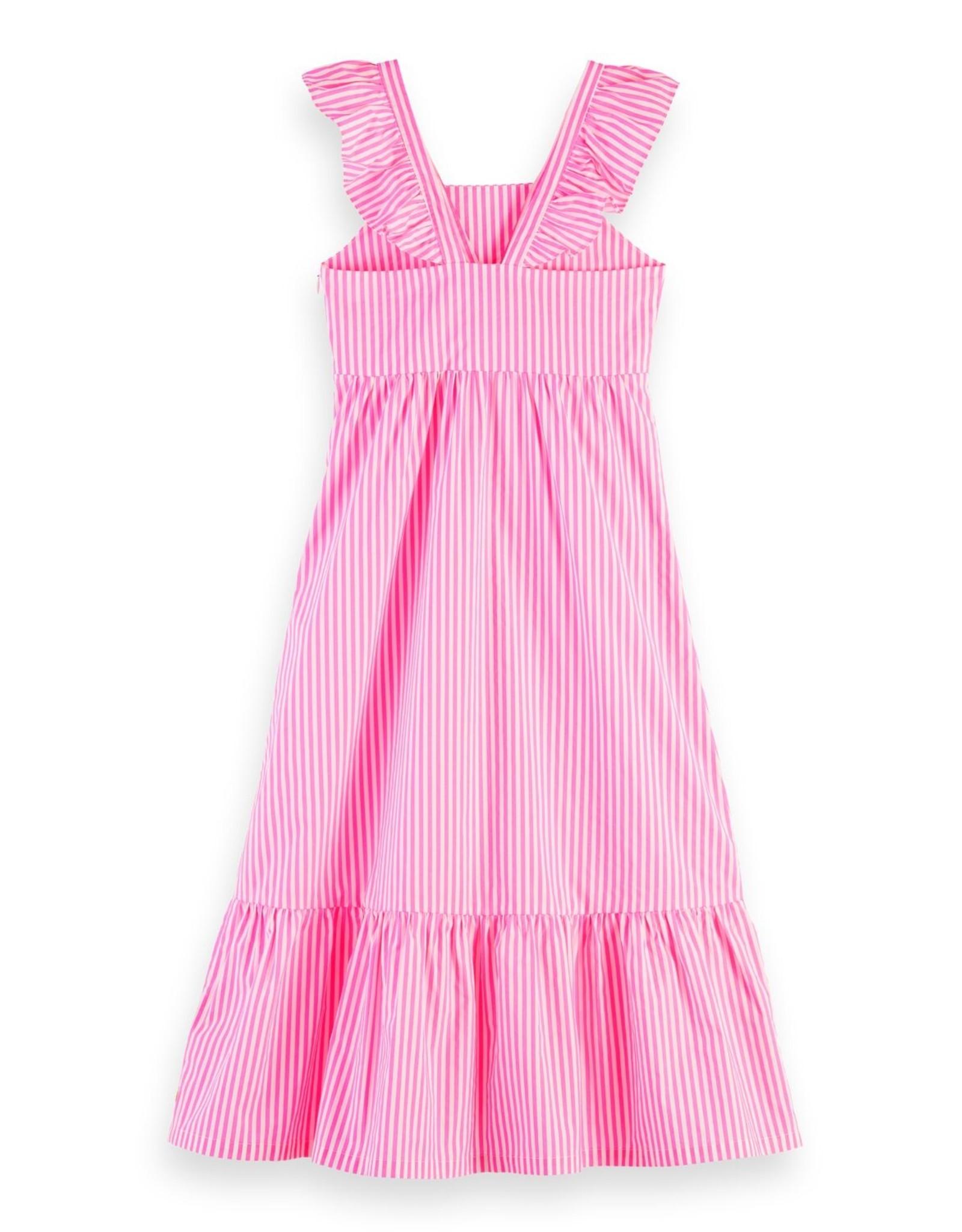 Scotch&Soda R'belle SS'20 striped maxi dress