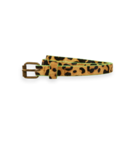 Scotch&Soda R'belle  leather belt animal print
