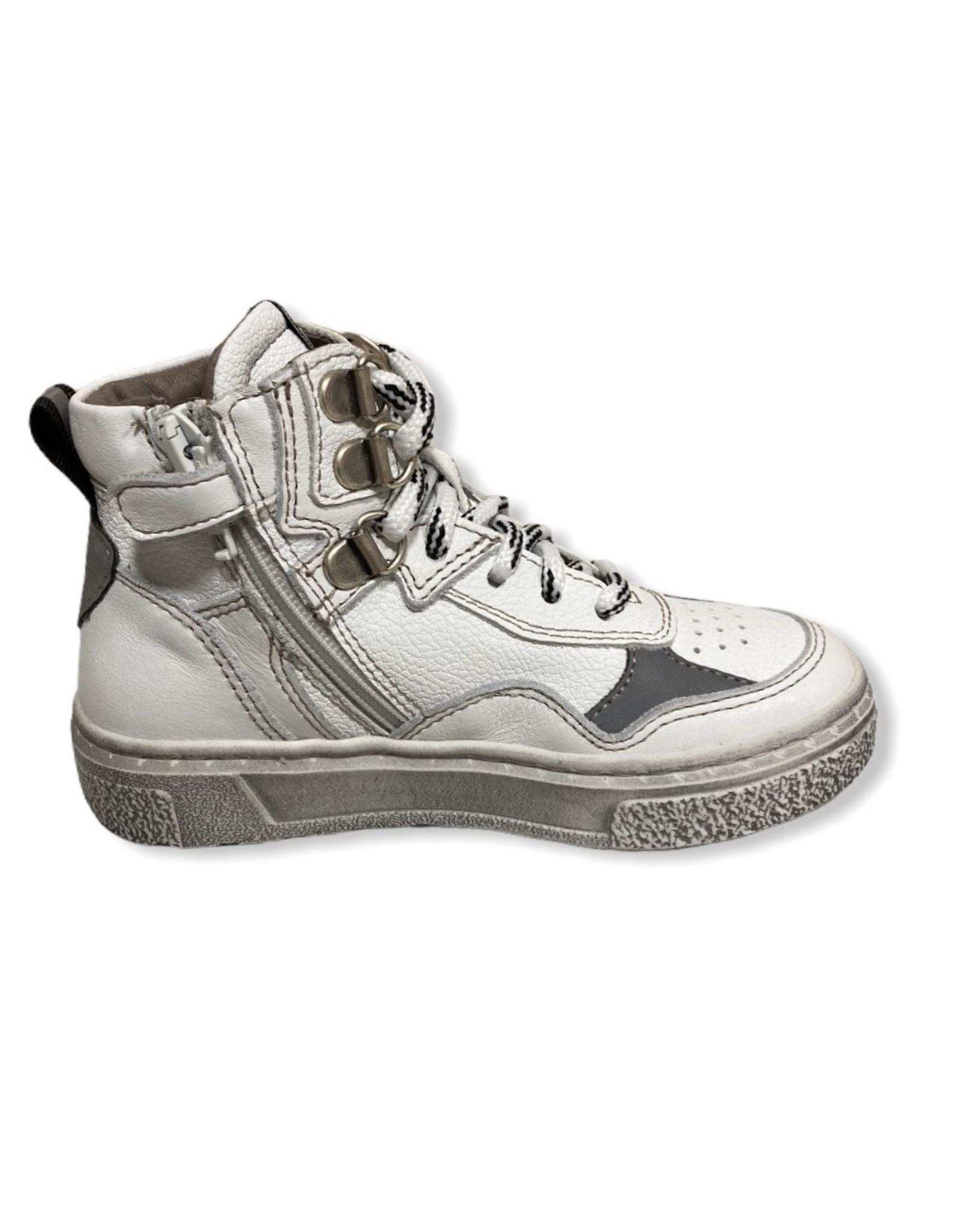 Momino FW20 witte sneaker wit reflector