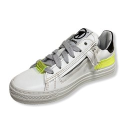 Momino Momino witte sneaker fluo detail 33 & 34