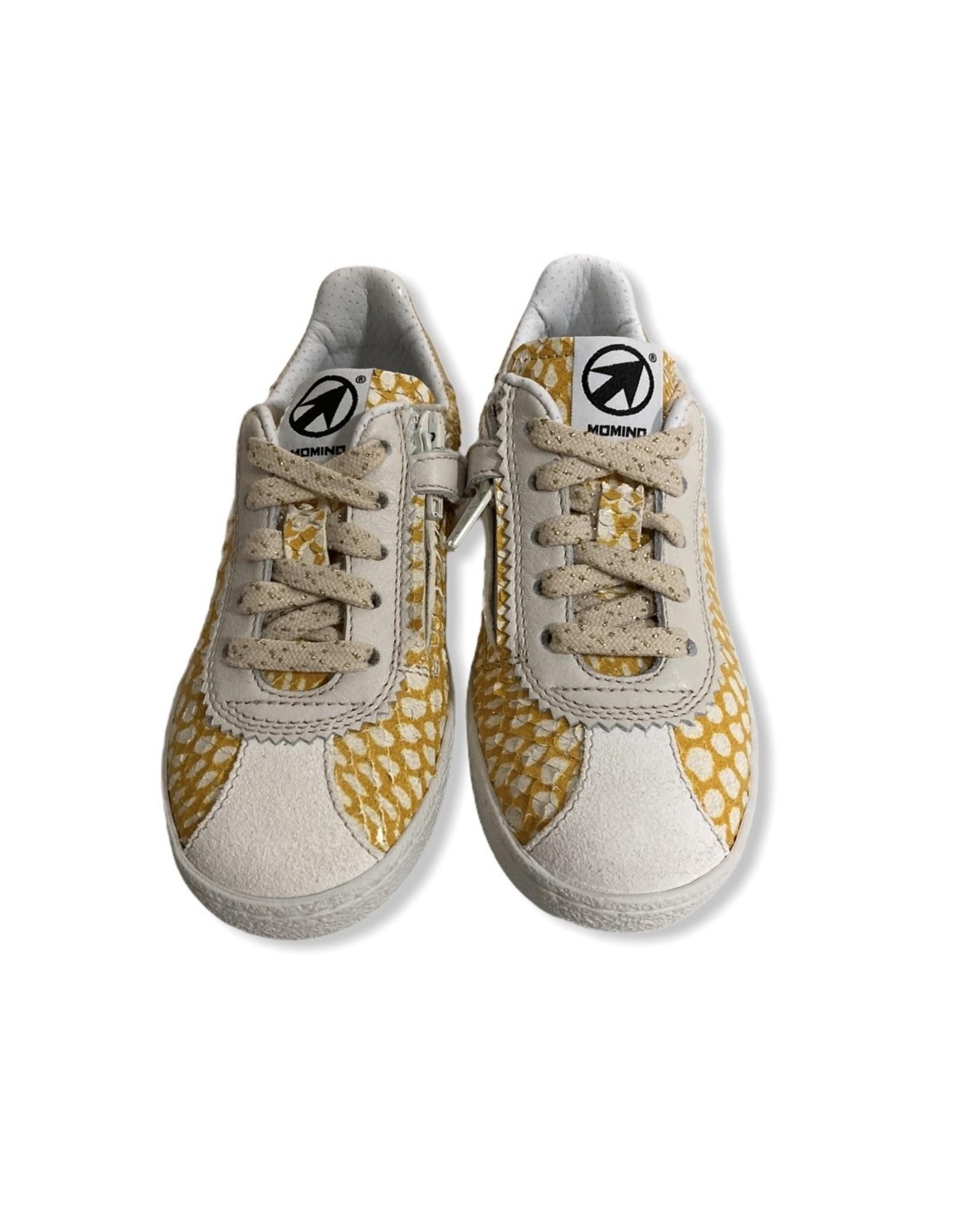 Momino Momino gele snake sneaker