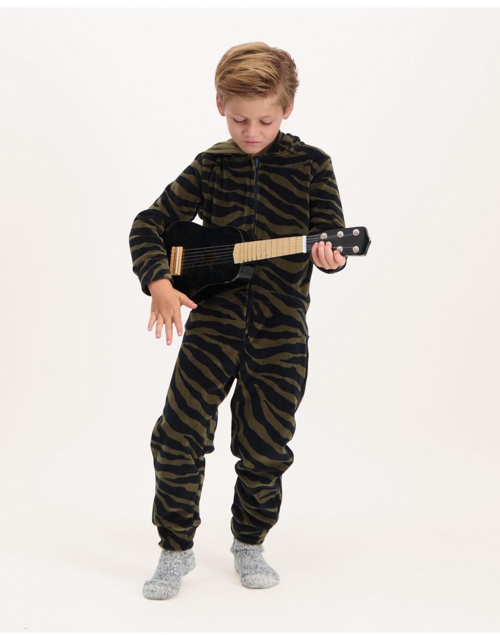 Claesen's Claesen's FW20 pyjama onesie zebra