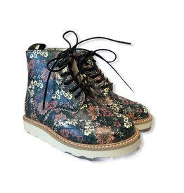 Young Soles Sydney Brogue boot floral