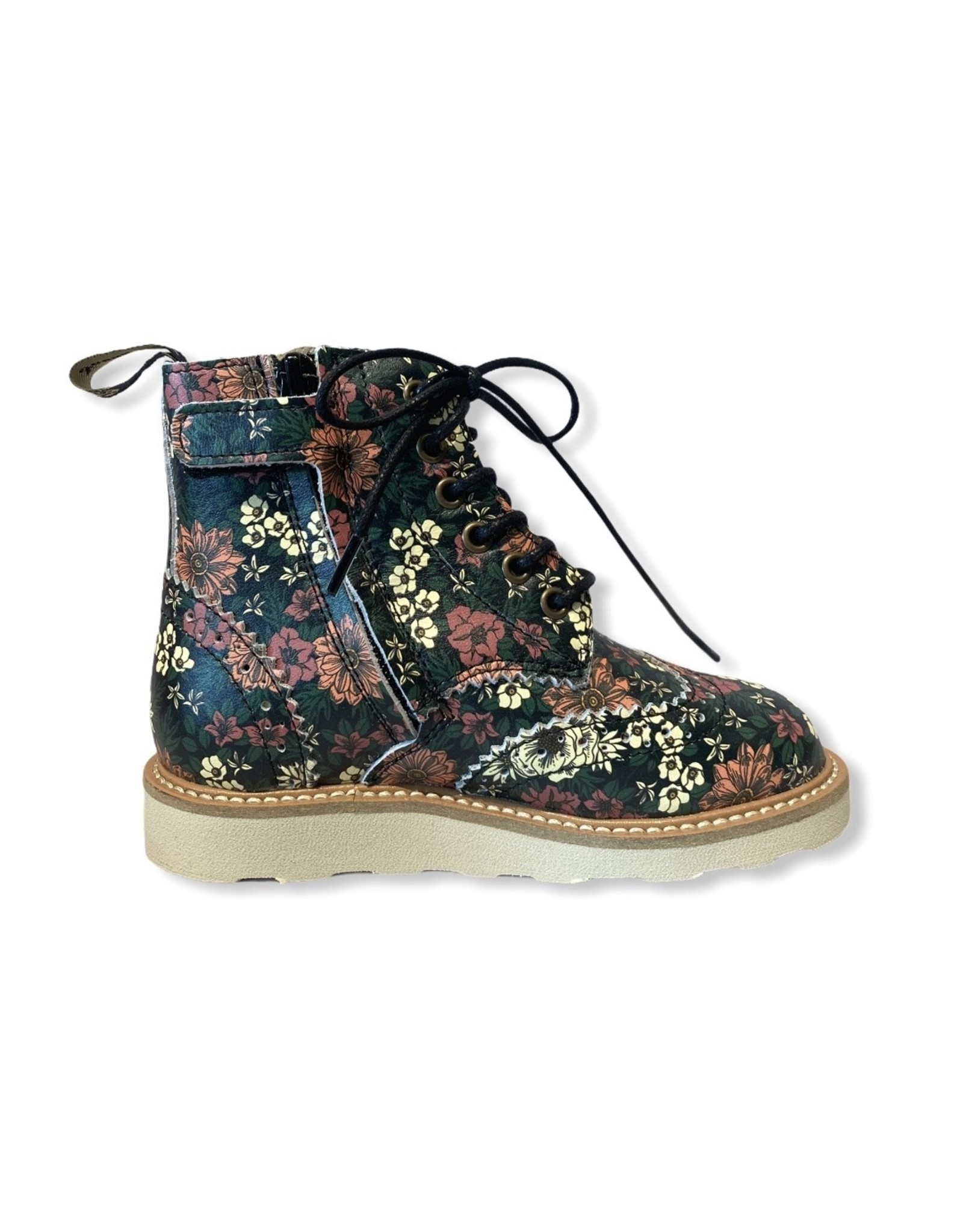 Young Soles YS FW20 Sydney Brogue boot floral