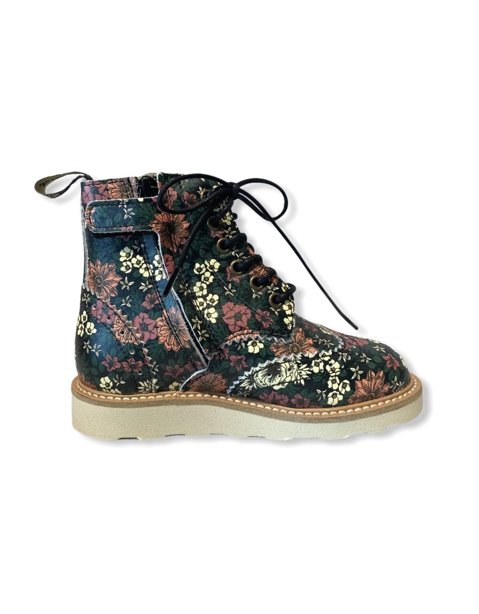 YS FW20 Sydney Brogue boot floral