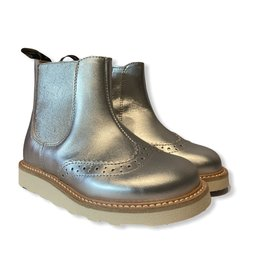 Young Soles Francis Chelsea boot silver
