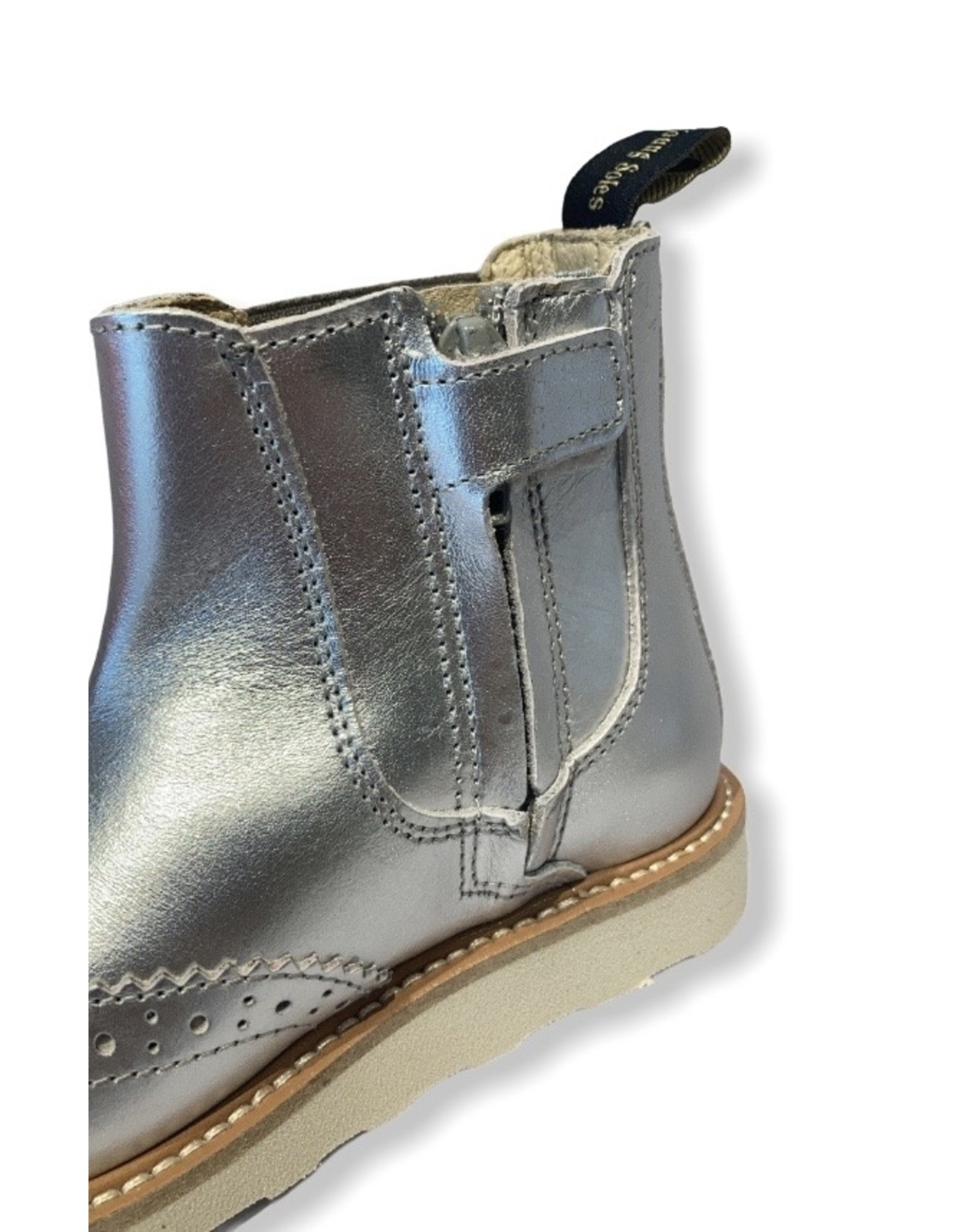 Young Soles YS FW20 Francis Chelsea boot silver