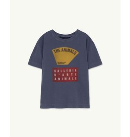 The Animals Observatory Rooster Kids T-shirt navy