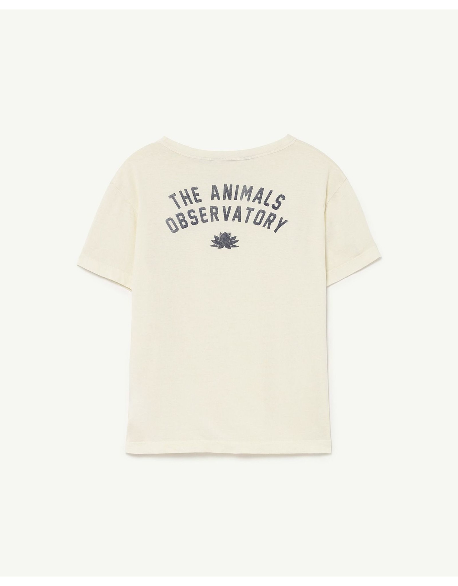 The Animal Observatory TAO PS21 001221BK Rooster Kids T-shirt white