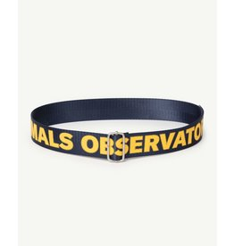 The Animal Observatory TAO PS21 021038CG Lizard Kids belt navy