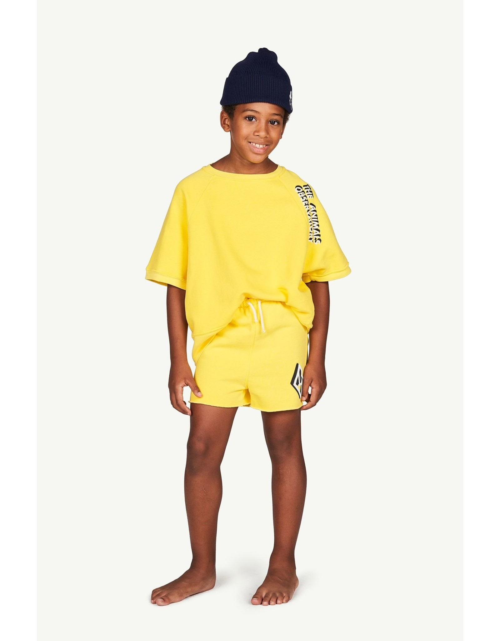 TAO PS21 008203BL Hedgehog kids trousers yellow