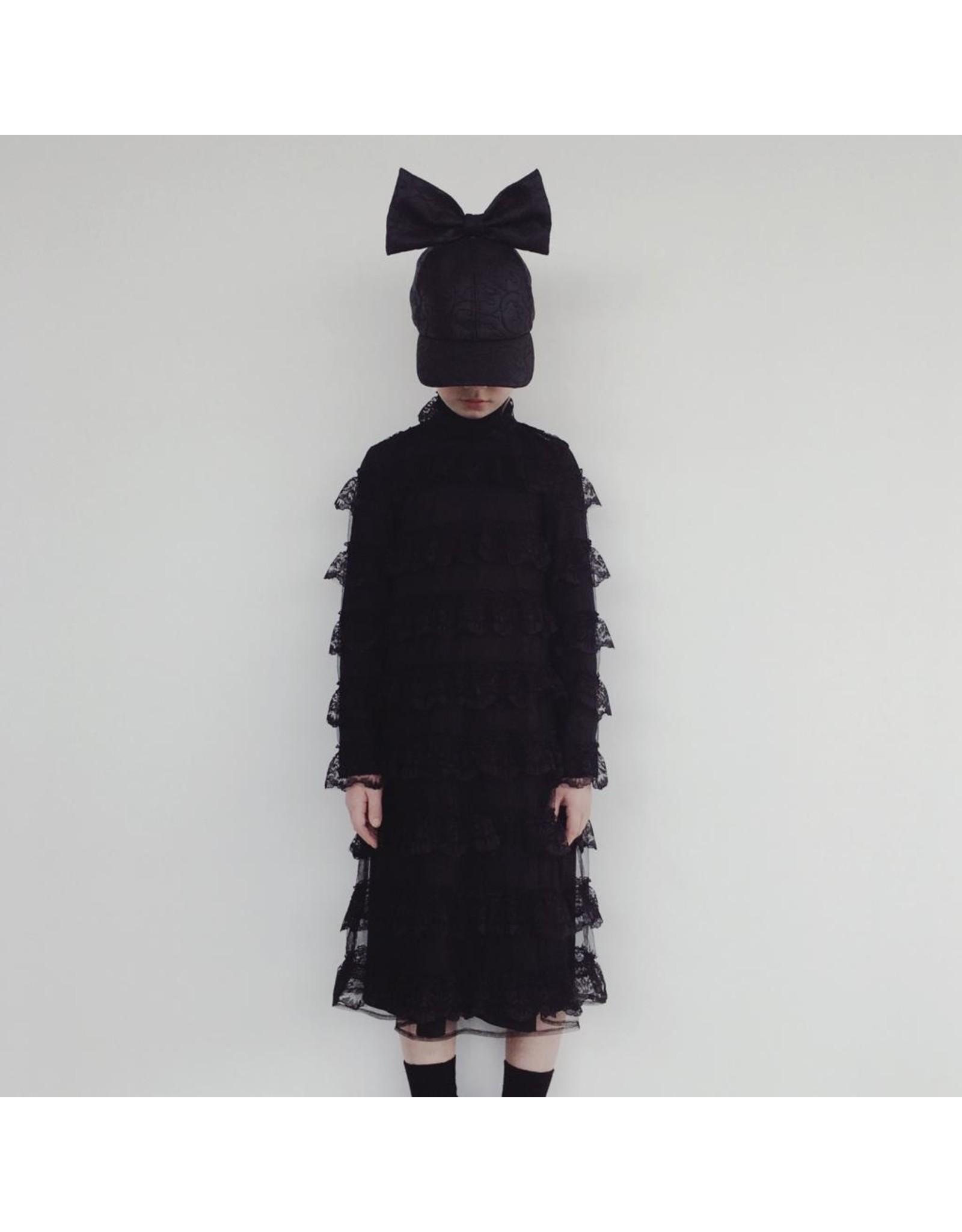 CRLNBSMNS PS21 4067657 broderie dress black