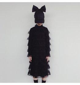 Caroline Bosmans CRLNBSMNS broderie dress black