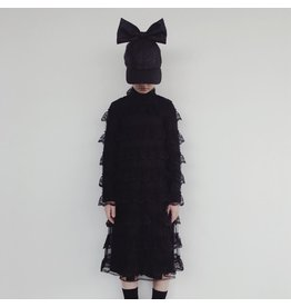 CRLNBSMNS broderie dress black
