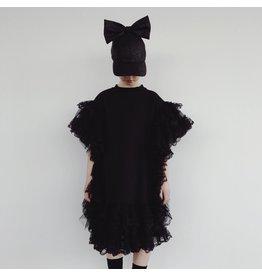 Caroline Bosmans CRLNBSMNS ruffled dress black