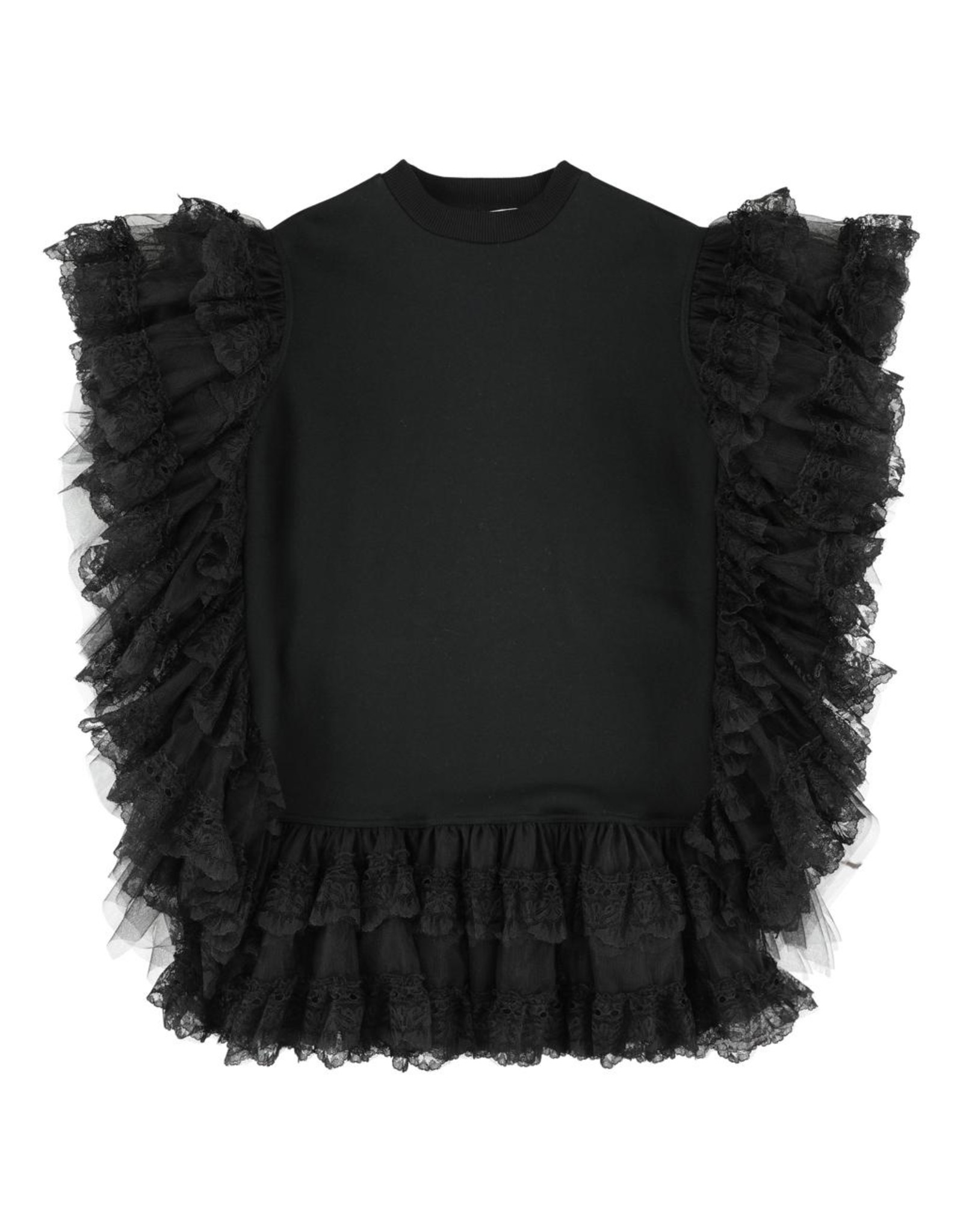 CRLNBSMNS PS21 4037457 ruffled dress black