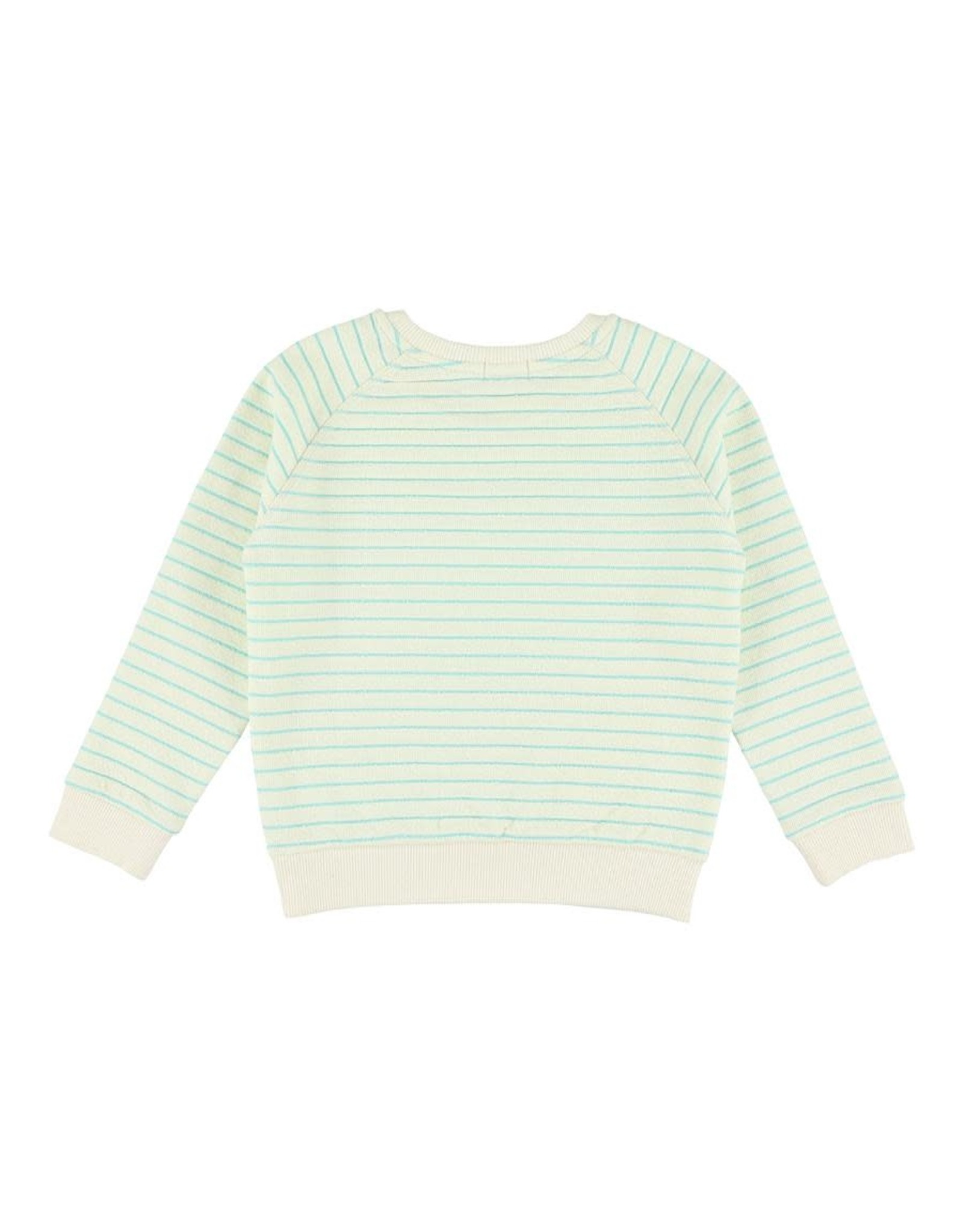 Morley Morley SS21 Jaws Scott Turquoise sweater