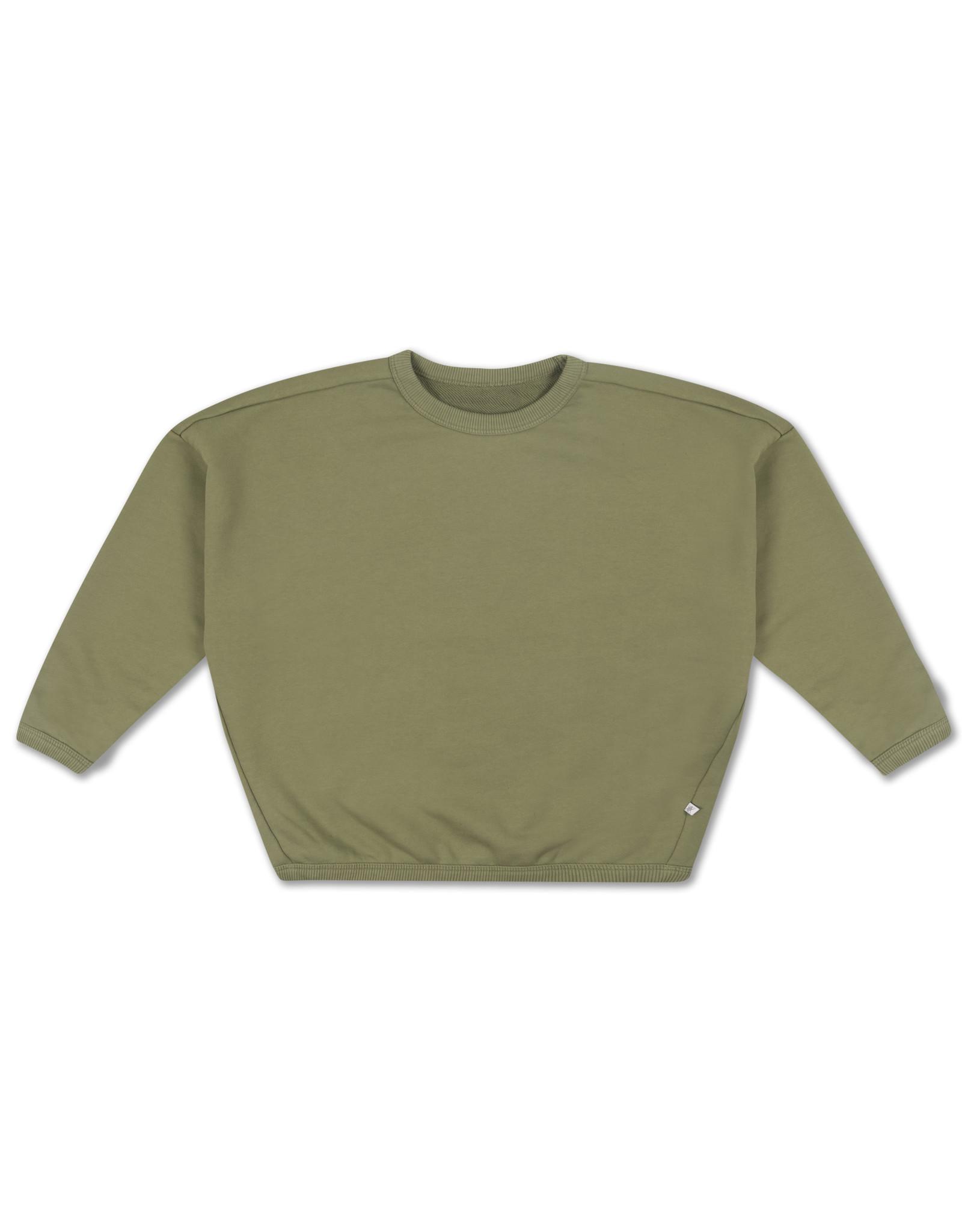 Repose Repose SS21 13 Boxy Sweater loden green
