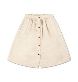 Repose Repose SS21 29 Button down Skirt vintage white