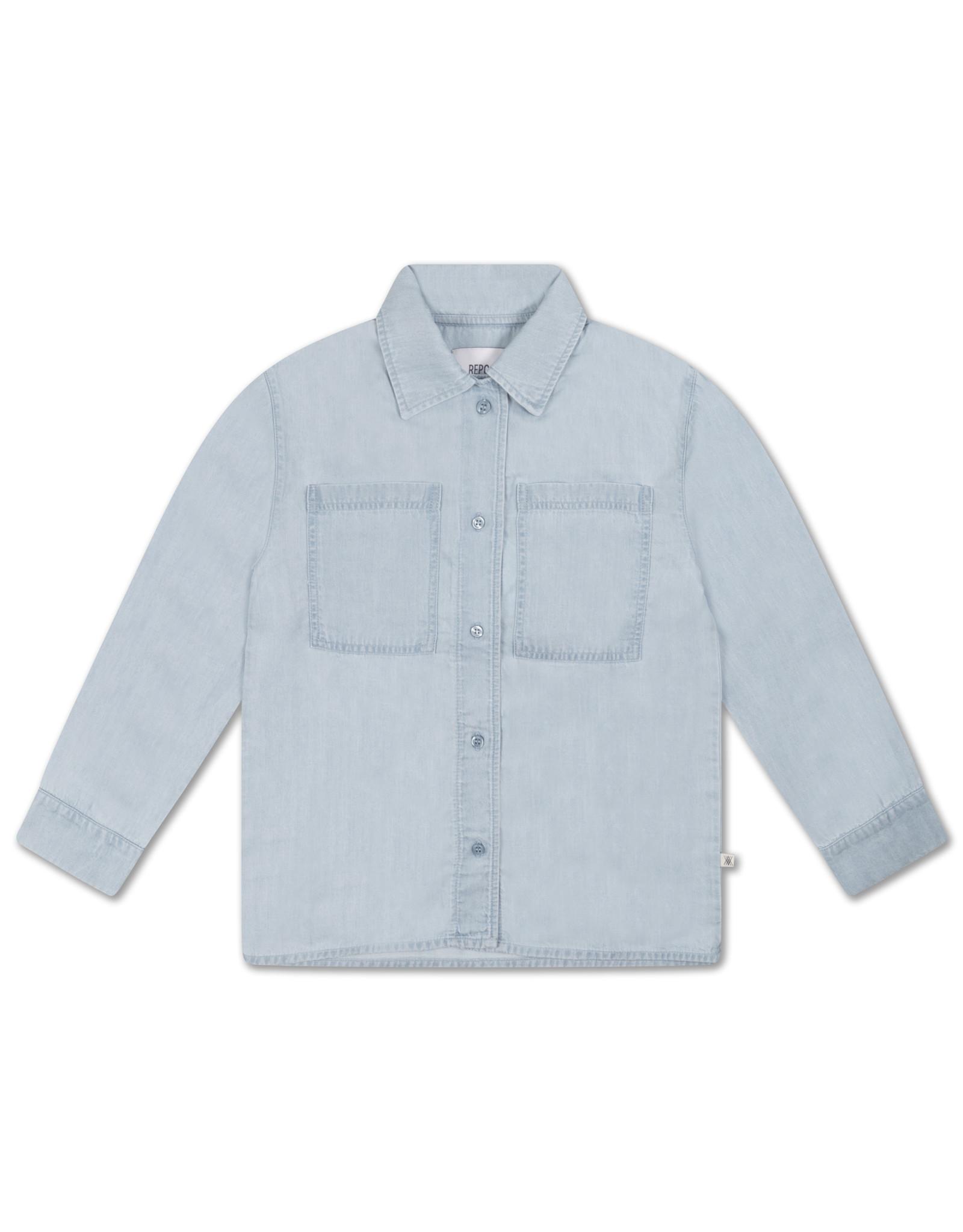 Repose Repose SS21 38 Classic Shirt light washed blue