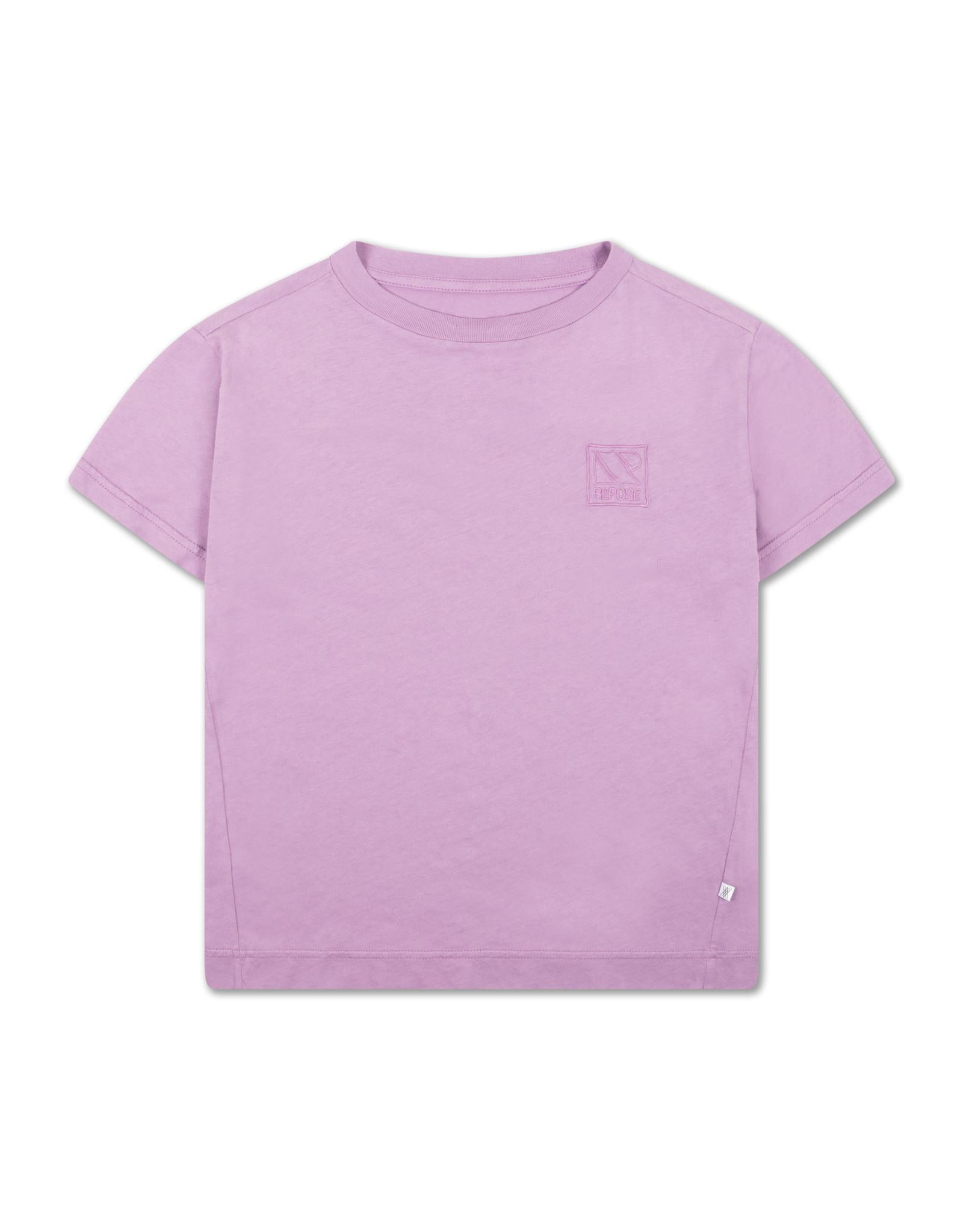 Repose Repose SS21 51 Tee greyish violet
