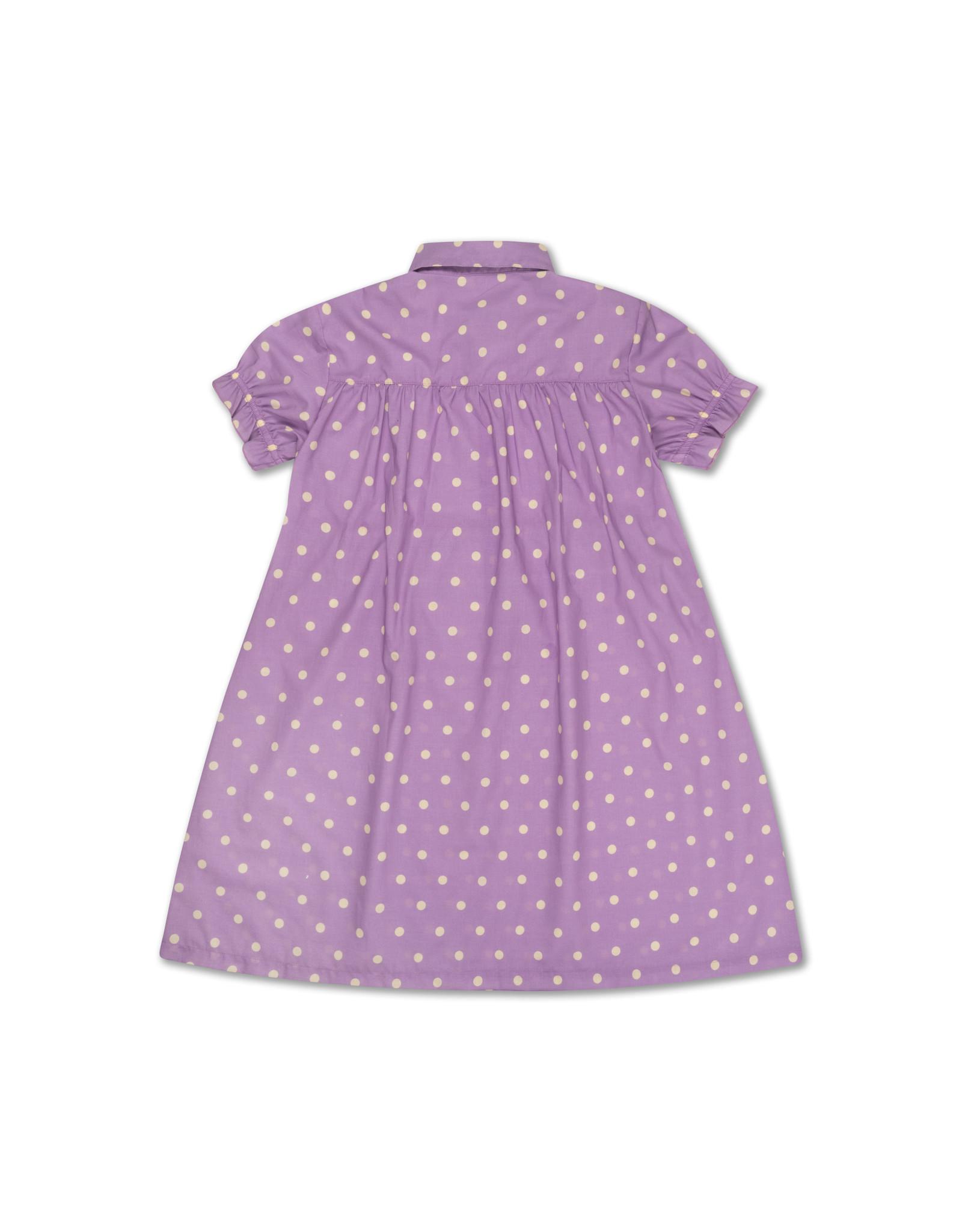 Repose Repose SS21 46 Dreamy dress polka dots violet