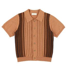 Simple Kids SS21 Lizard shirt bricks