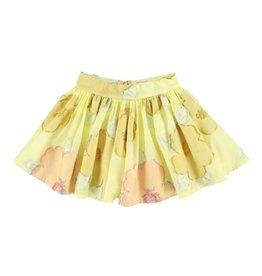 Morley Morley SS21 Ferrari Marygold gold skirt