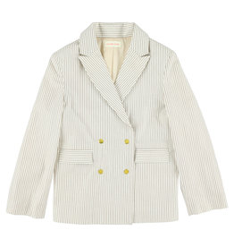 Simple Kids SS21 Chow Island white blazer