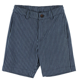 Simple Kids SS21 Jaguar lines blue shorts