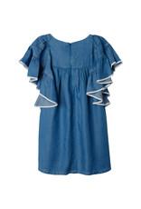 Chloe Chloe SS21 C12819 jurk denim