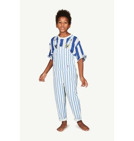 The Animal Observatory TAO SS21160 Mammoth jumpsuit white stripes