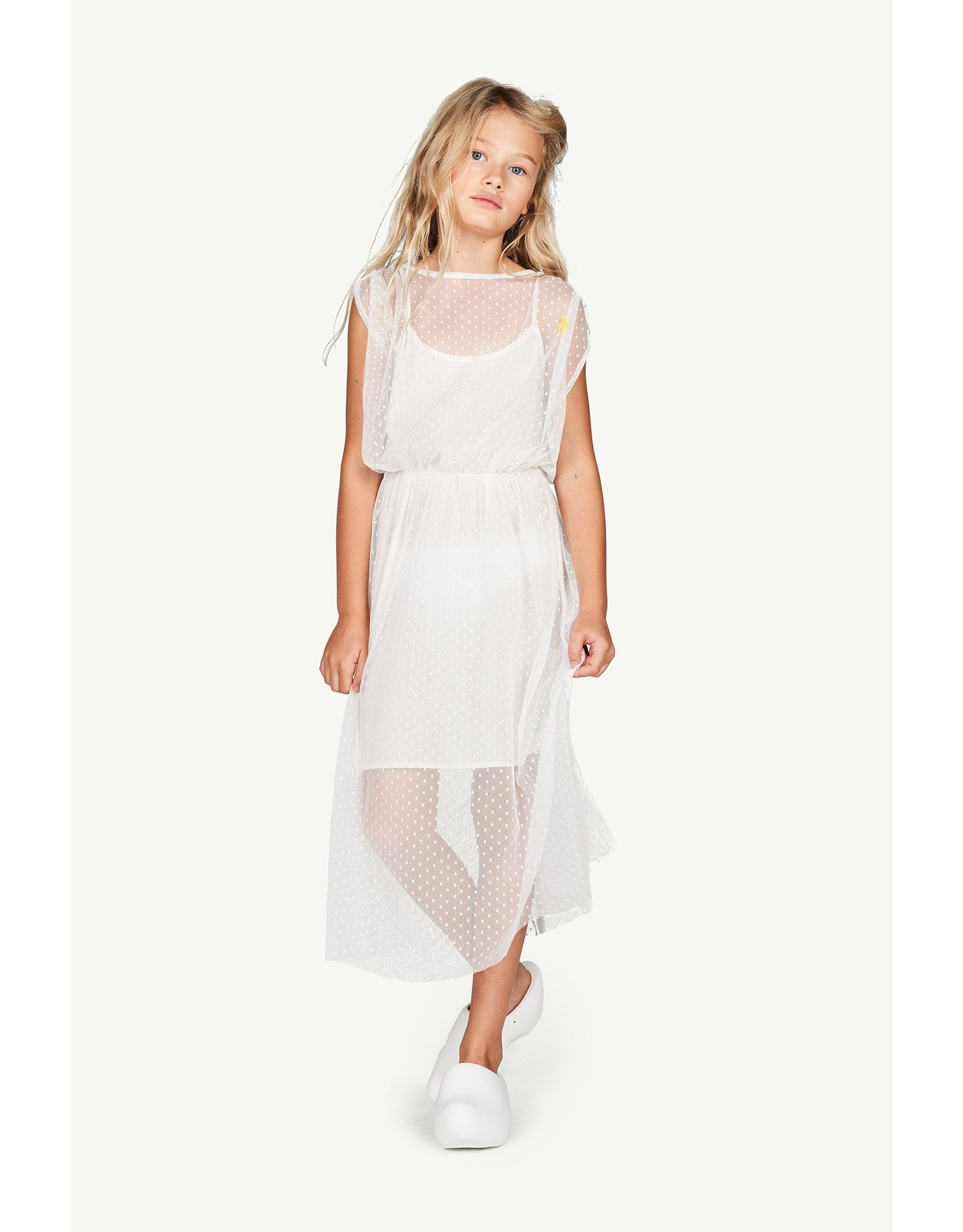 The Animal Observatory TAO SS21168 Tulle Marten dress white
