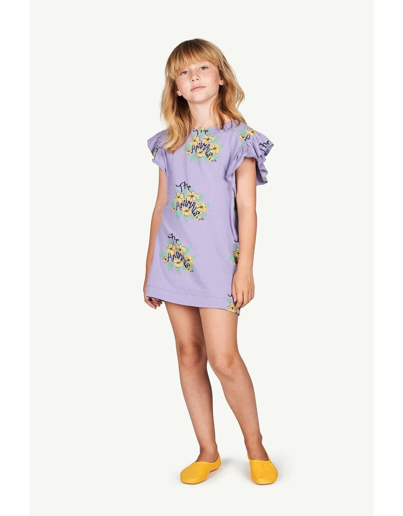 TAO SS21136 Fly dress purple flowers