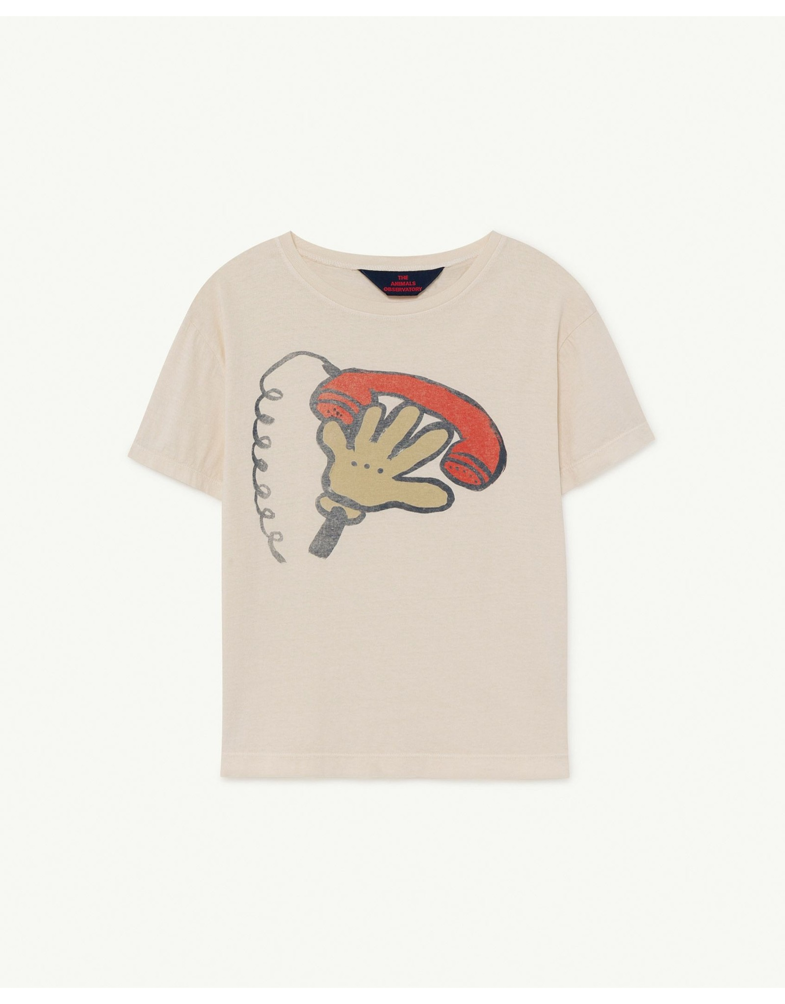 The Animals Observatory TAO SS21001 Rooster T-shirt