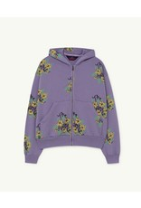 TAO SS21139 Seahorse sweatshirt purple flowers