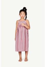 TAO SS21053 Giraffe dress pink stripes