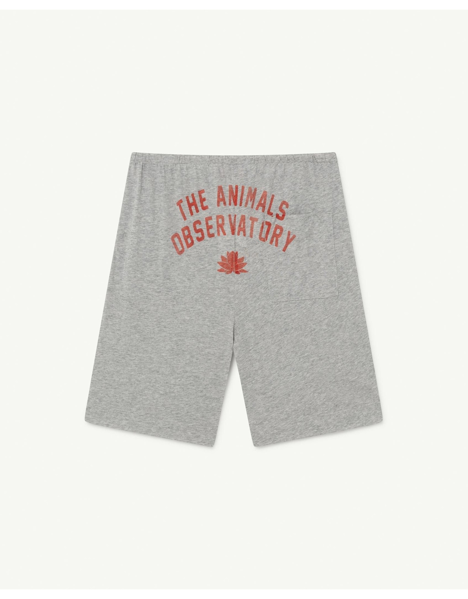 The Animals Observatory TAO SS21050 Mole trousers grey logo
