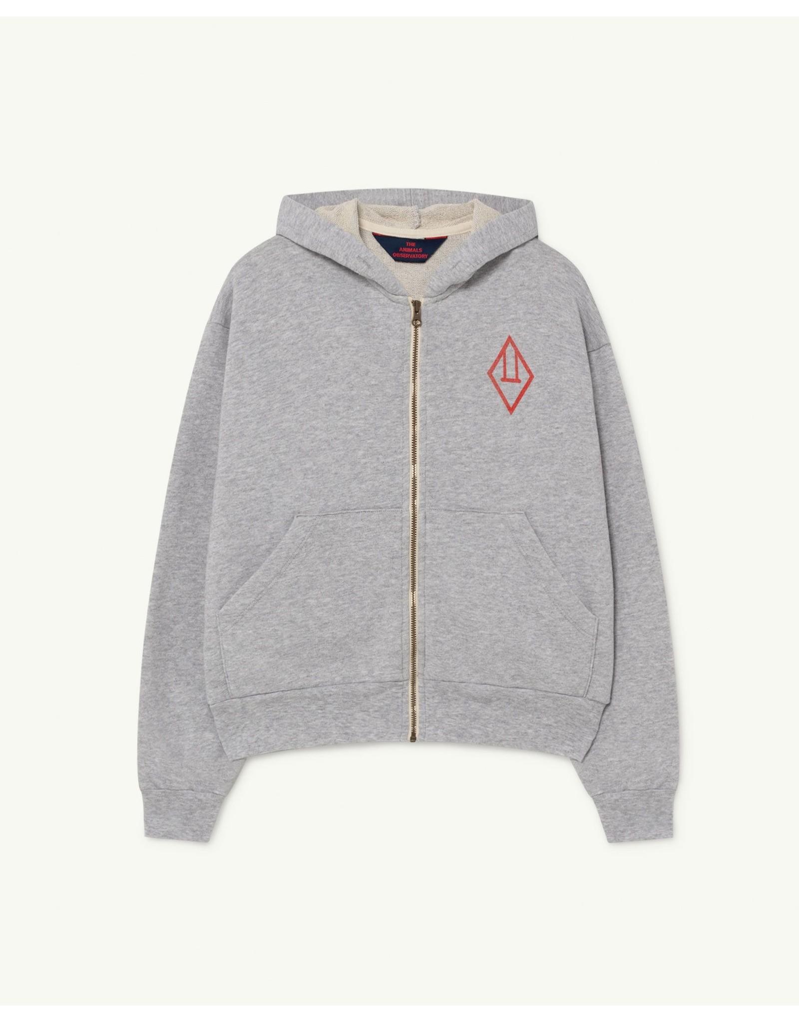TAO SS21046 Seahorse sweatshirt grey