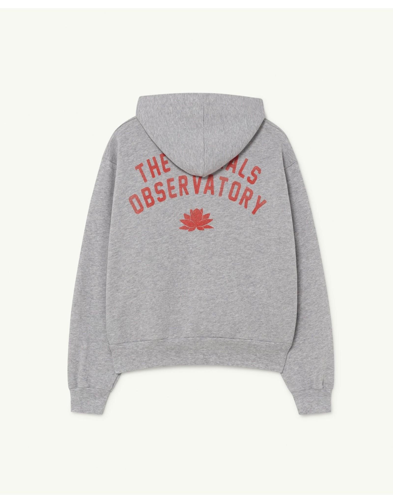 The Animal Observatory TAO SS21046 Seahorse sweatshirt grey