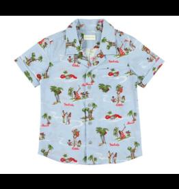 Simple Kids Simple Kids SS21 Rabbit aloha ciel shirt