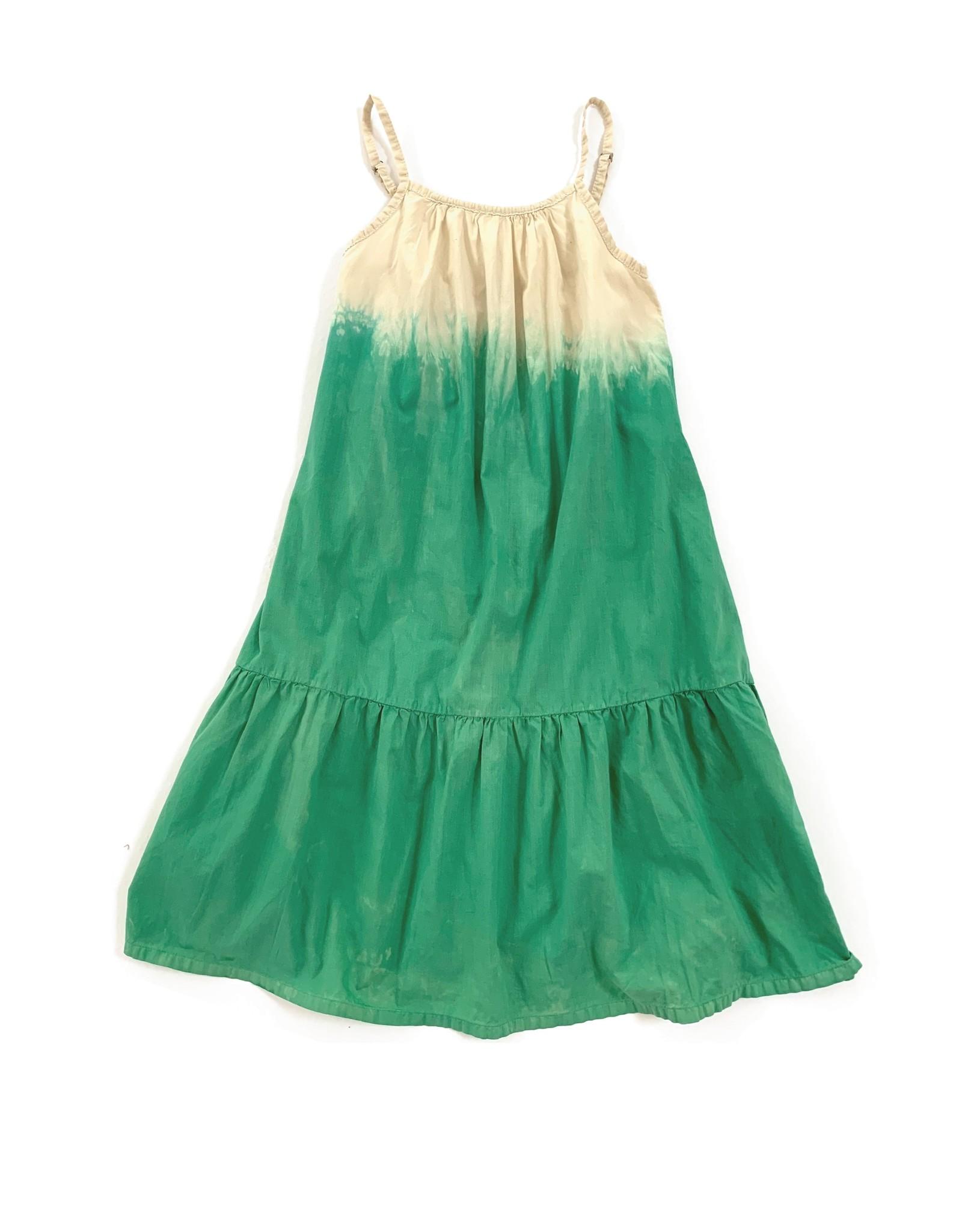 Long Live The Queen LLTQ SS21 111 wide dress green dip dye