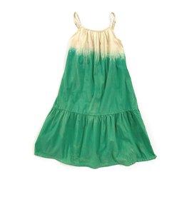 Long Live The Queen Long Live The Queen wide dress green dip dye
