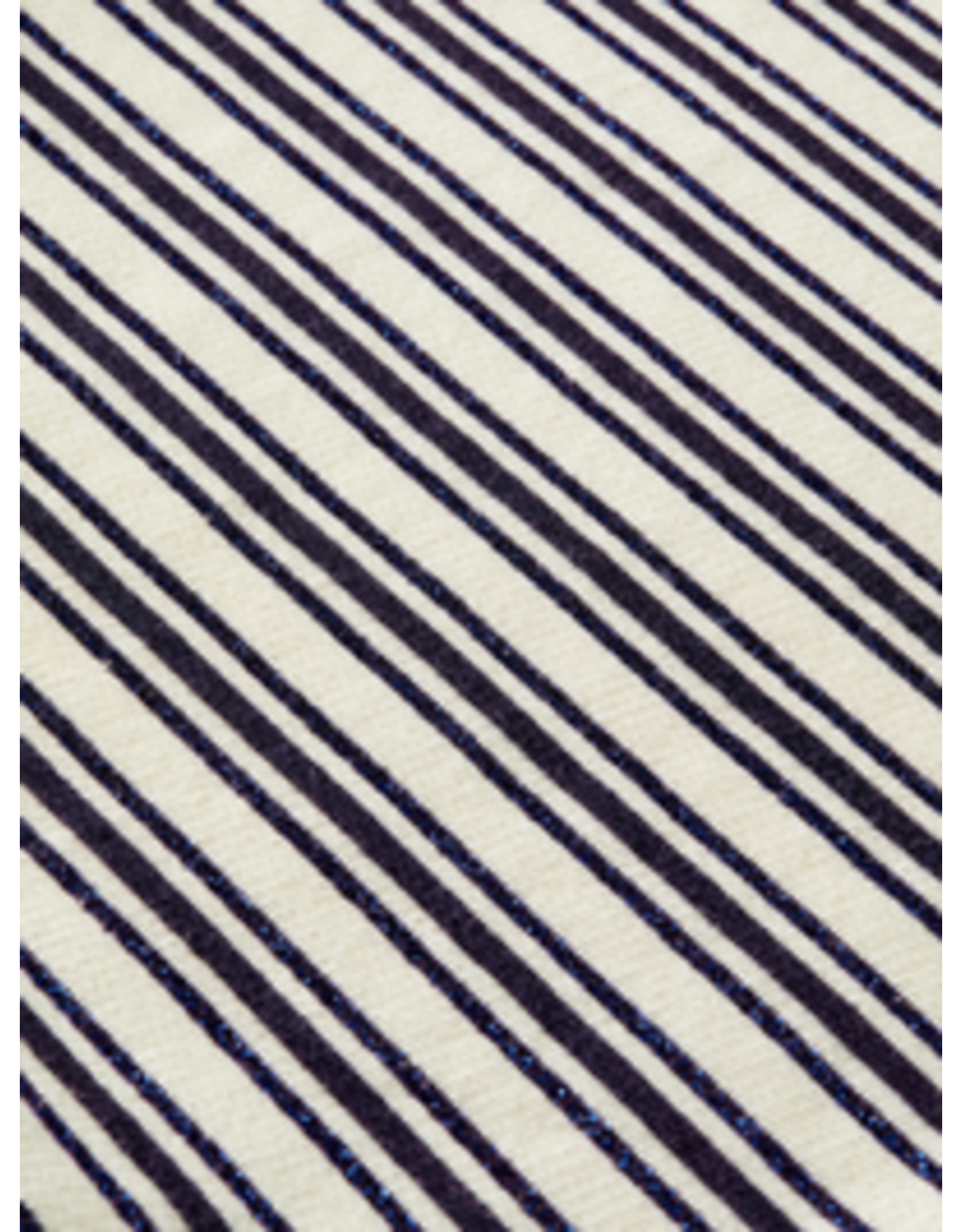 Scotch&Soda R'belle SS21 161287 hoody with ruffled hem striped