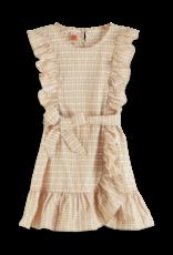 Scotch&Soda R'belle SS21 161368 Ruffle dress combo