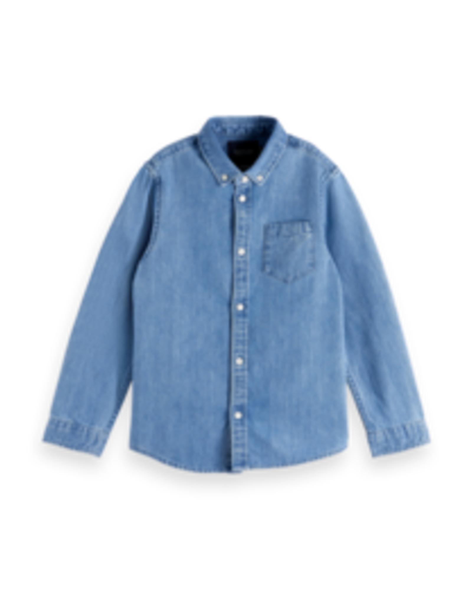 Scotch&Soda Shrunk SS21 160079 denim shirt